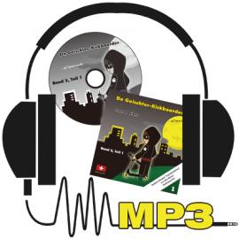 MP3: Der Geischterkickboarder - uf Spuresuechi, Band 2, Teil 1, Geschichten 1-5